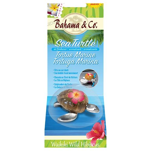 Bahama & Co Waikiki Hibiscus Turtle x4