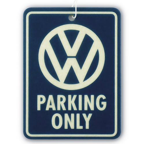 VW Hanging Air Freshener Fresh/Parking Only x12