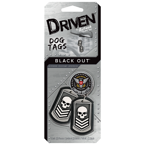 Driven Dog Tags x4