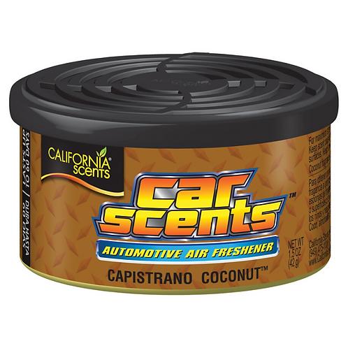 California Scents Car Scents - Capistrano Coconut x12