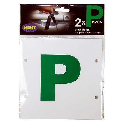 Kent P Plates Mag, Stick & Tie on x10