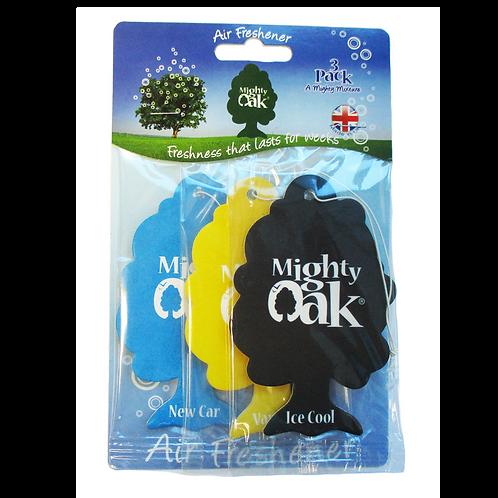 Mighty Oak Hanging Air Freshener 3 Pack x10