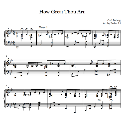 How Great Thou Art Hymnal Pdf