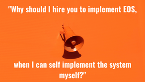 13 good reasons to hire a Professional EOS® Implementer