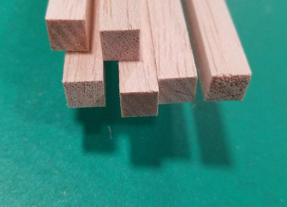"Balsa Wood 3/8 x 3/8 x 36"""
