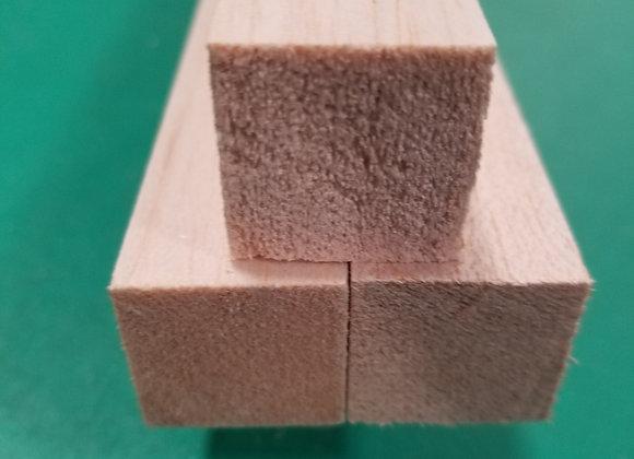 "Balsa Wood 1 x 1 x 36"""