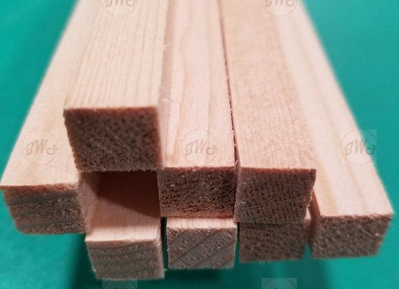 "Spruce 3/8 x 3/8x 36"""
