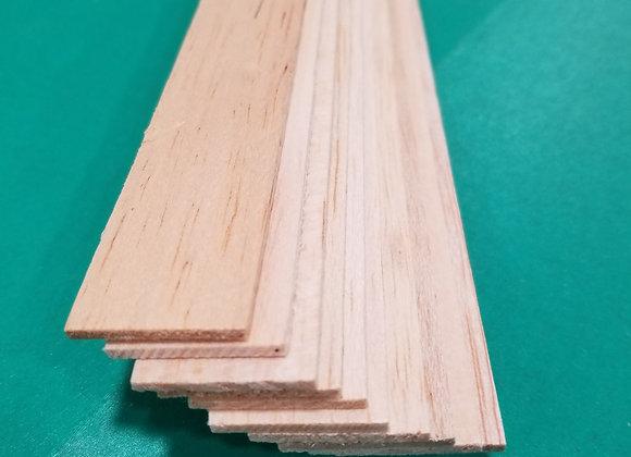 "Balsa Wood 3/32 x 1 x 36"""