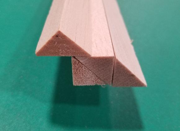 "Balsa Triangle 3/4 x 3/4 x 36"""