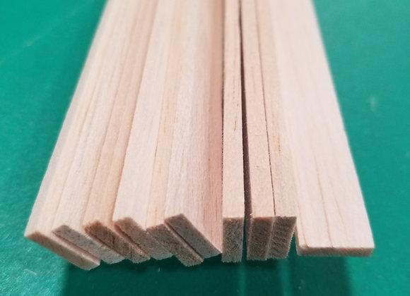 "Balsa Wood 1/8 x 1/2 x 36"""