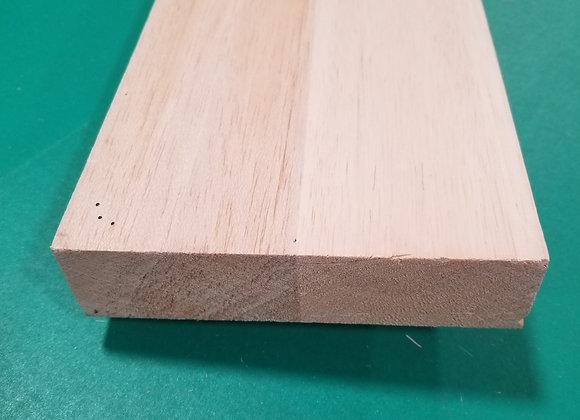 "Balsa Wood 1-1/2 x 6 x 36"""