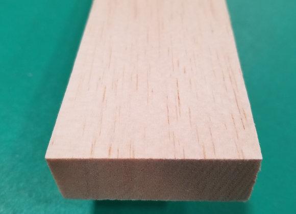 "Balsa Wood 3/4 x 2 x 36"""