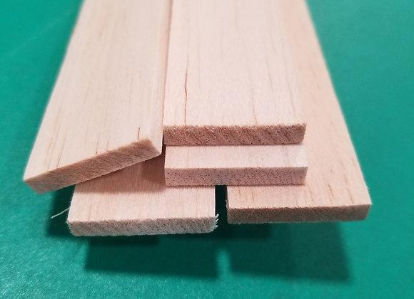 "Balsa Wood 3/16 x 1 x 36"""
