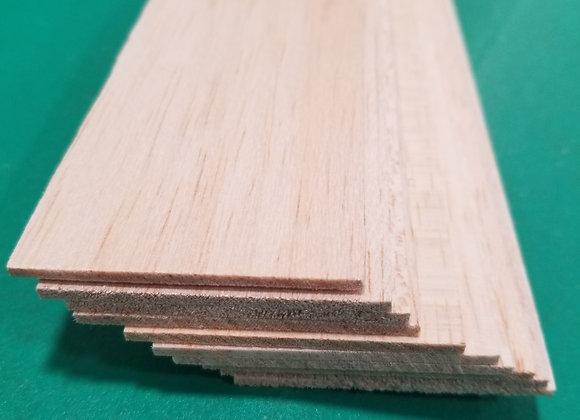 "Balsa Wood 1/8 x 2 x 36"""