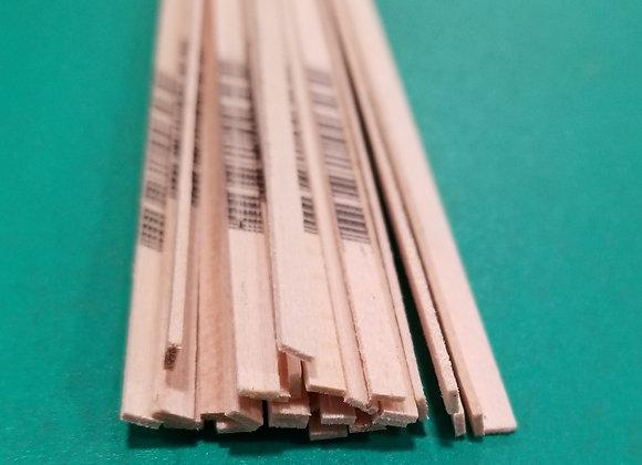 "Balsa Wood 3/32 x 3/8 x 36"""