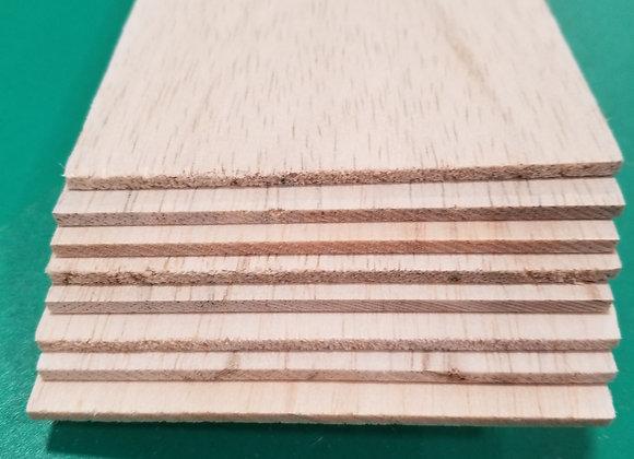 "Balsa Wood 1/8 x 4 x 36"""
