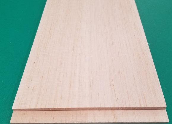 "Balsa Wood 3/16 x 6 x 36"""