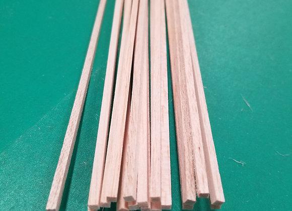 "Balsa Wood 1/8 x 1/8 x 36"""