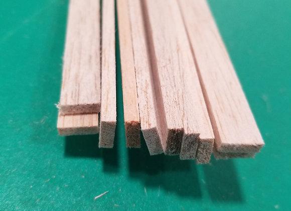 "Balsa Wood 1/8 x 3/8 x 36"""