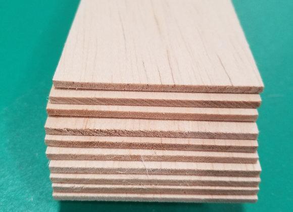"Balsa Wood 1/8 x 3 x 36"""