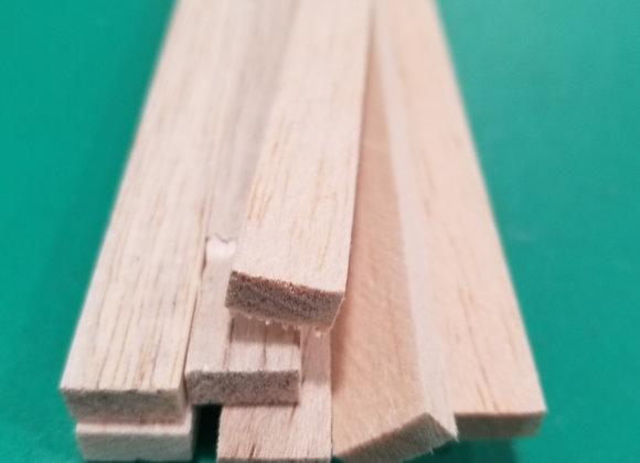 "Balsa Wood 1/4 x 1/2 x 36"""