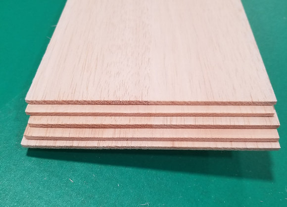 "Balsa Wood 1/8 x 6 x 36"""