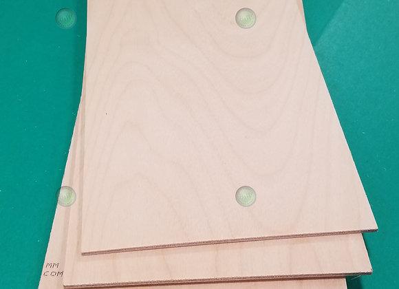 """Birch Plywood 1/8 x 12 x 48"""" 5 Ply 6261"""