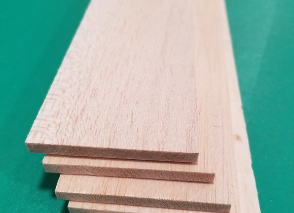 "Balsa Wood 3/16 x 2 x 36"""