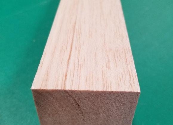 "Balsa Wood 2 x 2 x 36"""