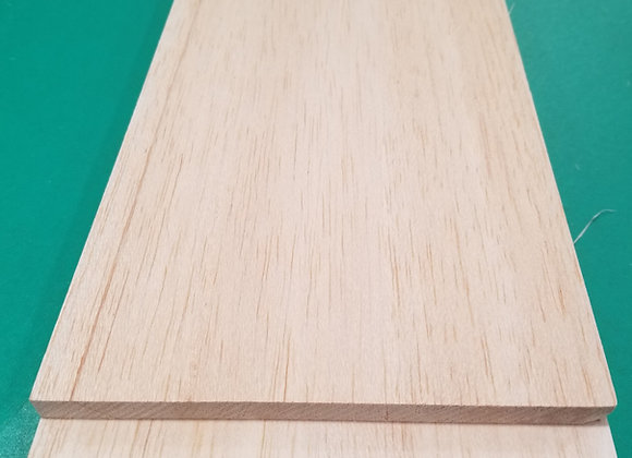 "Balsa Wood 3/8 x 6 x 36"""