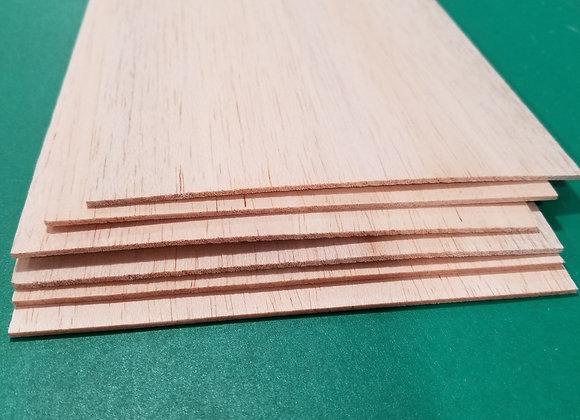 "Balsa Wood 1/16 x 6 x 36"""