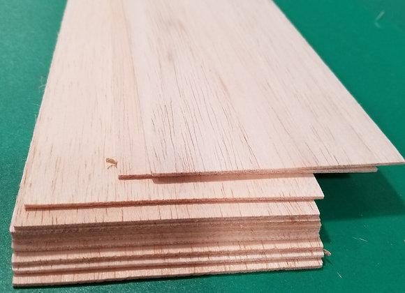 "Balsa Wood 1/16 x 4 x 36"""