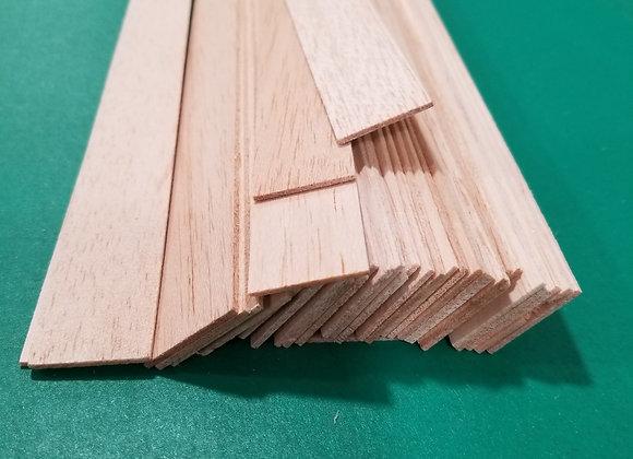 "Balsa Wood 1/16 x 1 x 36"""