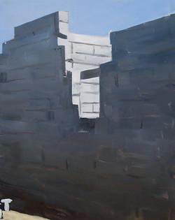 Petit pan de mur blanc