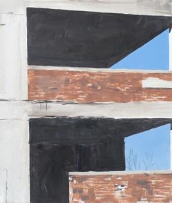 Architecture - percée bleue