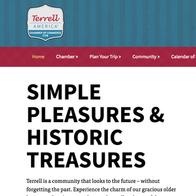 Terrell Chamber of Commerce Website