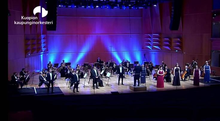 Oopperan viettelemät - oopperakonsertti 4.2021