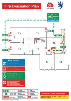 Block Fire Evacuation 5