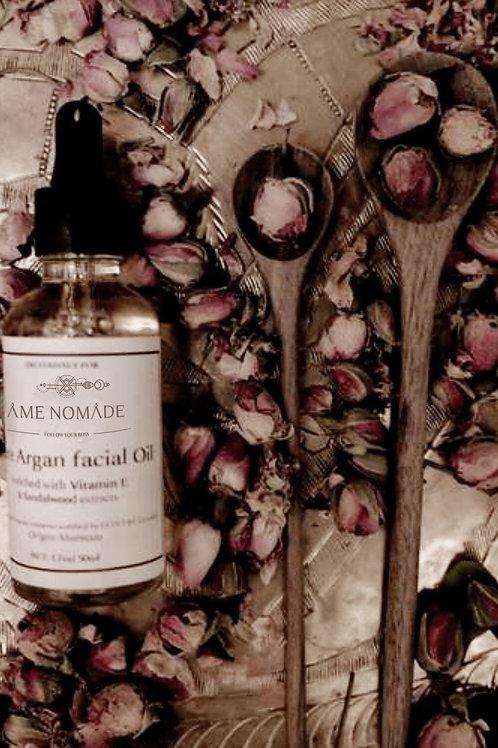 Argan oil with vitamin E