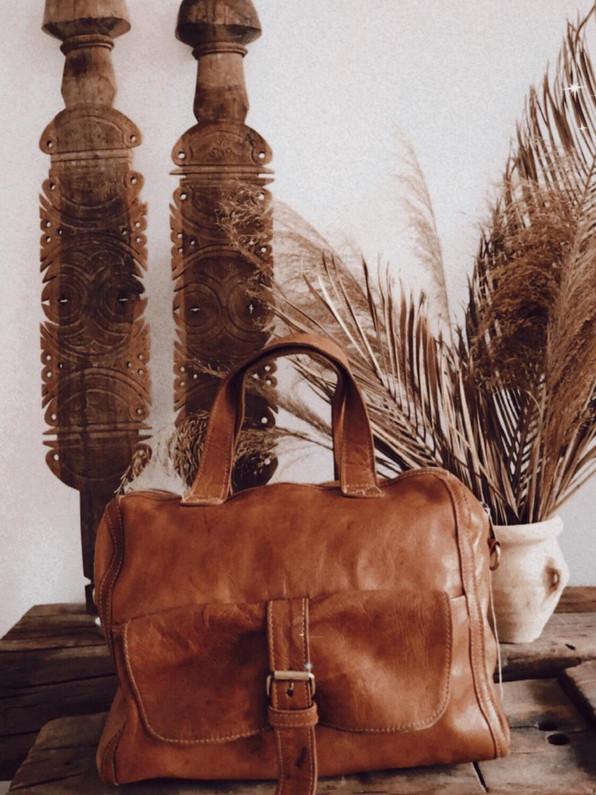 leather bag colis