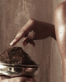 The ritual of Hammam, african black soap