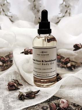 Damask Rose Sensual body oil - Limited edition