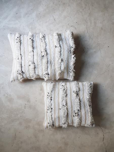 moroccan wedding blanket pillow adhara small