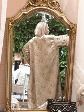 khadija over sized bohemian kimono