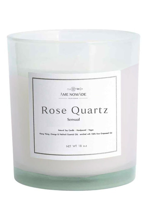 Rose Quartz - Sensual essential oil blend soy candle