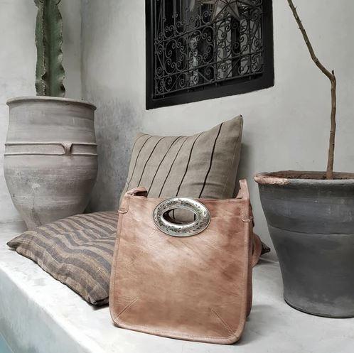 leather bag fez
