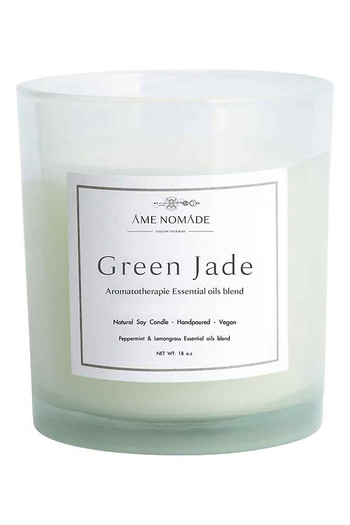 Green Jade - Essential oil soy candle