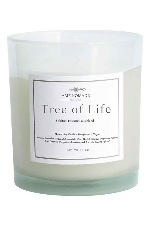 Tree of Life - Spiritual oils blend soy candle