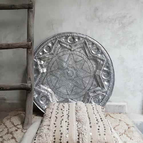 moroccan vintage tray - medium