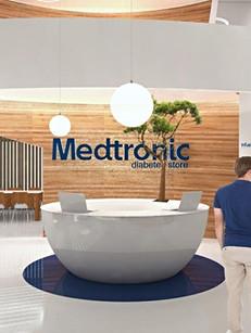 Medtronic's flagship diabetes store, Athènes